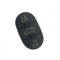 Bouton de remplacement pour télécommande plip AUDI A2 A3 A4 A6 A8 TT       ELDM-AU-KE19 ou AUKE12
