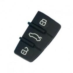 Bouton de remplacement pour télécommande plip AUDI A3 A4 A6 A8 TT Q7       ELDM-AU-KE20  ou AUKE13A